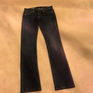 Gently worn AG Ballad slim boot jeans size 26R